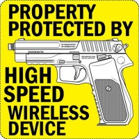 Property Protected By High Speed Wireless Device